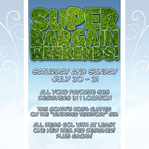 Super Bargain Weekend