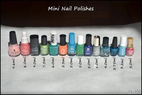 Mini Nail Polishes