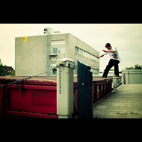 Kevin nollie tailslide