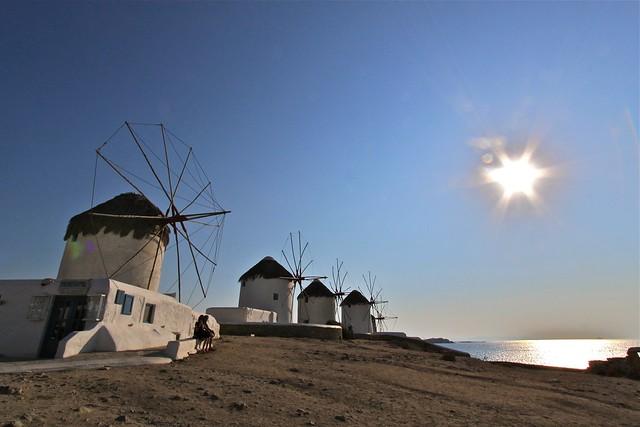 Moulins à vent, Myconos