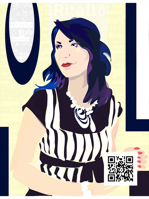 Self Portrait With QR Code