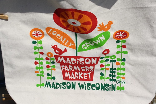 Madison Farmers Market canvas bag