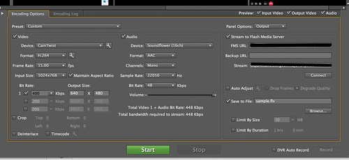 Flash Media Live Encoder 3.2