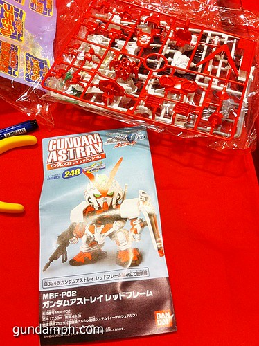Free SD Astray Red Frame at TK Gundam Detailing Contest Caravan (5)