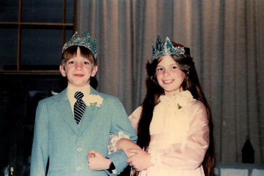 Ginger and Steve Duke and Dutchess Sunray Elementary 1982