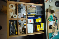 Left hand drawer