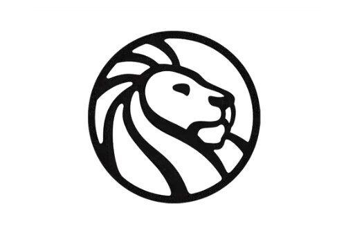 NYPL Library Lion Logo Circle Large