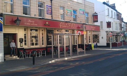 Gillespies Pub Topping St, Blackpool
