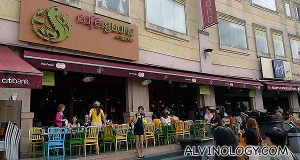 Next stop, Cafe Iguana