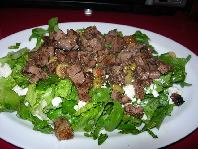 Beef Greek Salad