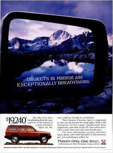 1994 Jeep Cherokee Ad