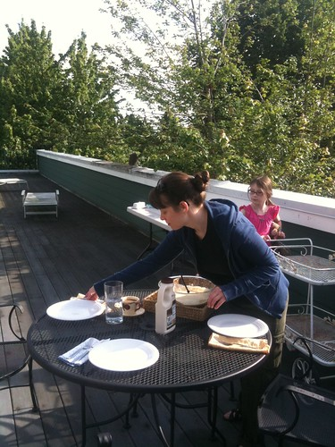 rooftop waffle table
