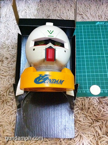 Turn A Gundam Head Display Coin Bank (8)