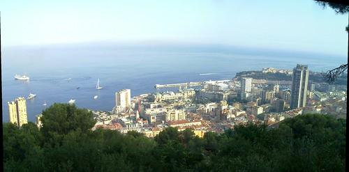 Monaco/Monte-Carlo visto de Roquebrune