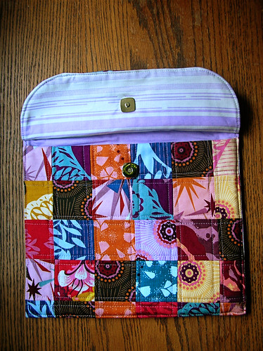 Ipad cover with flap up