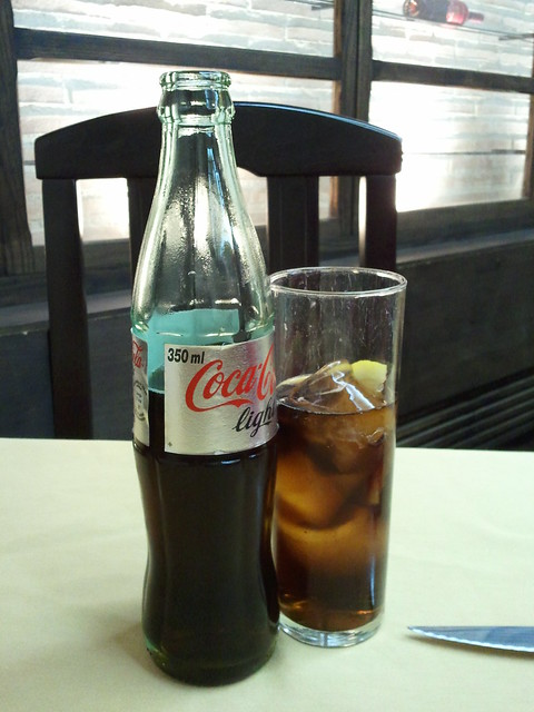 Botella de cola de 350ml