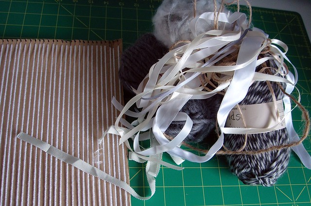 Getting ready to weave
