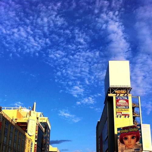 青い空。 #sky #iphonography #instagram