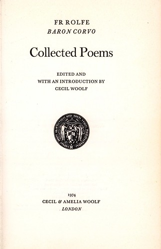 Collected Poems title page