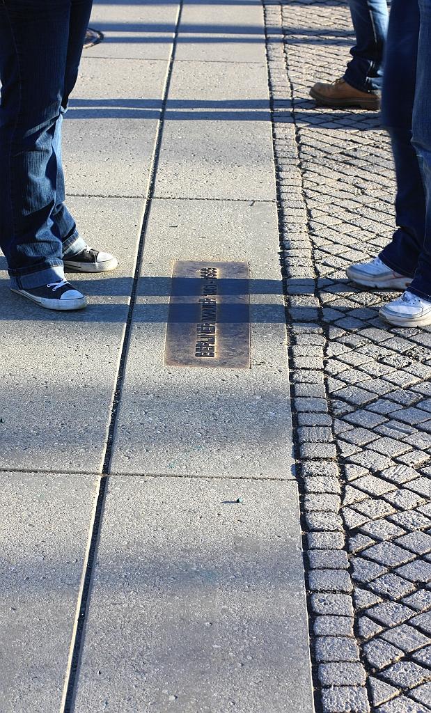 Berliner Mauer, Berlin Wall, Reichstag, Friedrich-Ebert-Platz, fotoeins.com