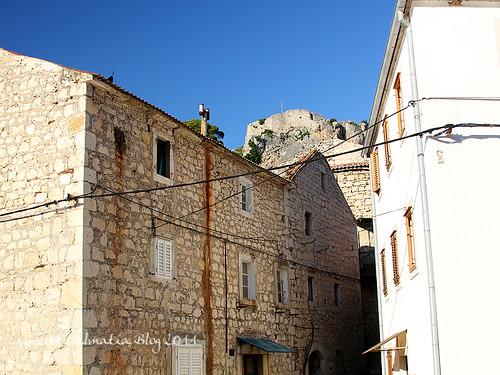 The narrow streets of Novigrad