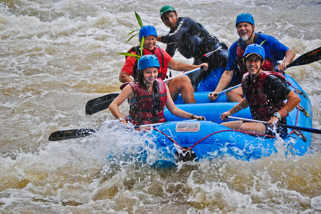 Rafting in the rain, Balsa River, Costa Rica
