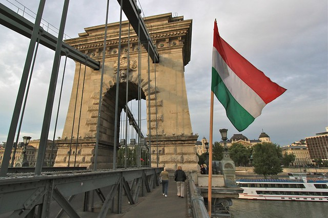 Pont à chaînes (Széchenyi Lánchíd), Budapest