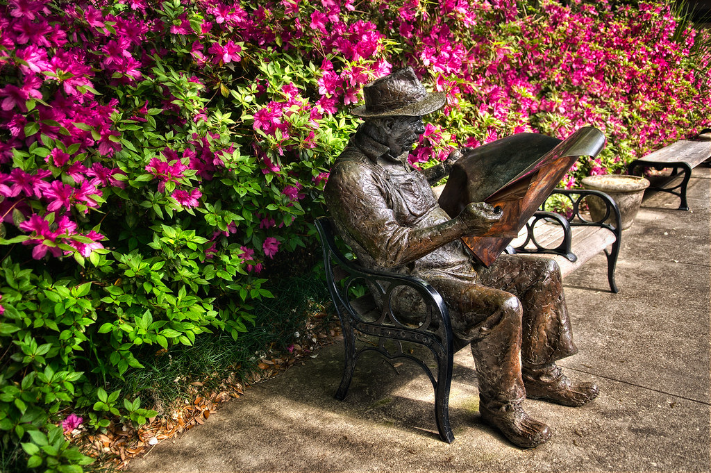 A sculpture at Brookgreen Gardens in South Carolina
