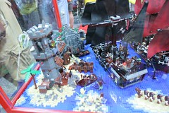 Pirates of the Caribbean Display Case - LEGO Booth at Comic Con - 9