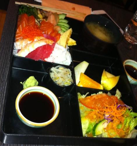 Sashimi Set from Hanami