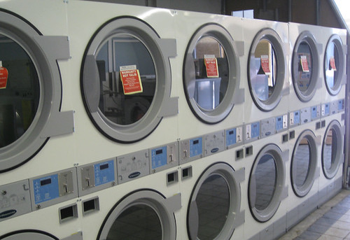 Laundromat at a Comedy Festival