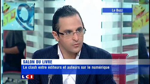 Arash Derambarsh à LCI : débat entre éditeurs et auteurs (salon du livre de Paris 2011) by Arash Derambarsh
