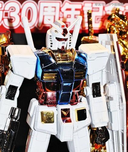 Mega Size 148 RX-78-2 Titanium Finish