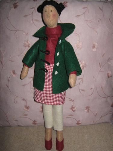 Jemima - A 'Tilda-style' Doll