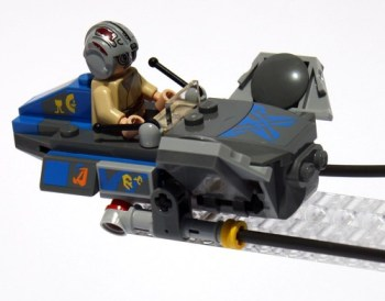Cockpit of Ani's Podracer