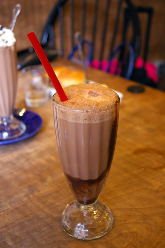 Egg cream at Blueplate