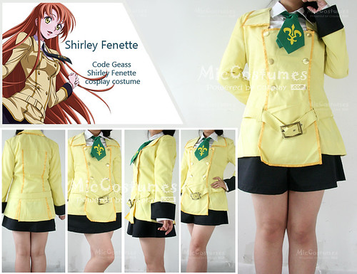 Code Geass Shirley Fenette cosplay