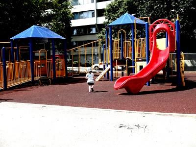 free-ranging toddler