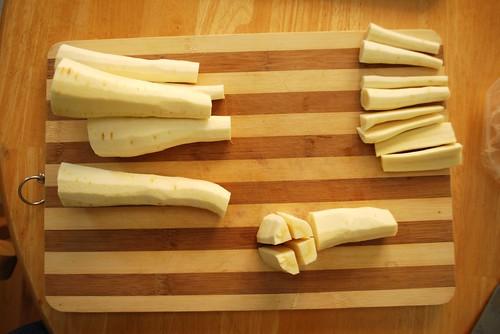 chop, chop, parsnip fingers
