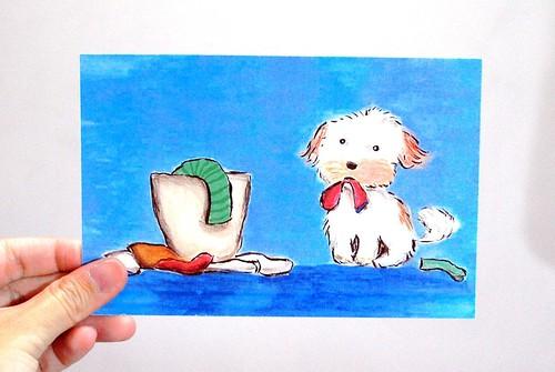 Gewwybeans laundry dog