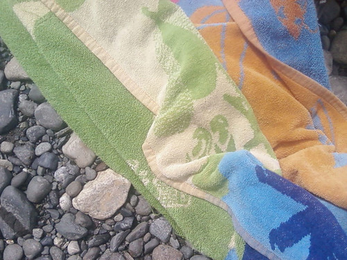 Beach Towel by Karyn Ellis