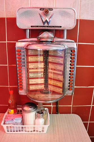 Elliston Place Soda Shop Nashville TN  Table Top Juke Box