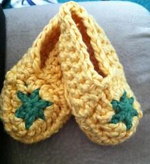 Crochet Star Booties