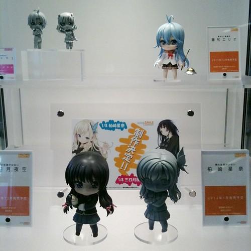 Nendoroid being displayd at Comiket 80