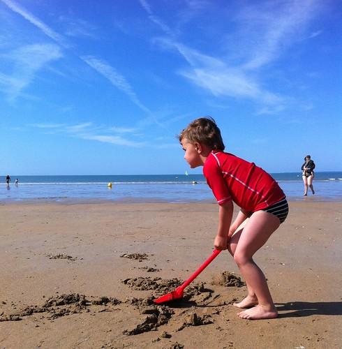 Minipixel à la plage