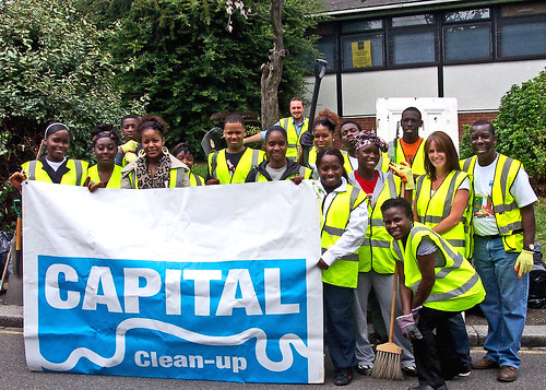 The Capital Clean Up Team