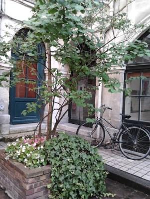 Paris courtyards