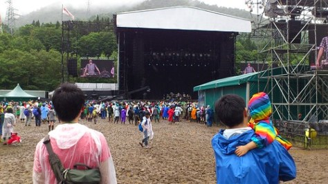 Fuji Rock Festival 2011 Green stage