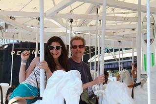 on the solar powered carousel