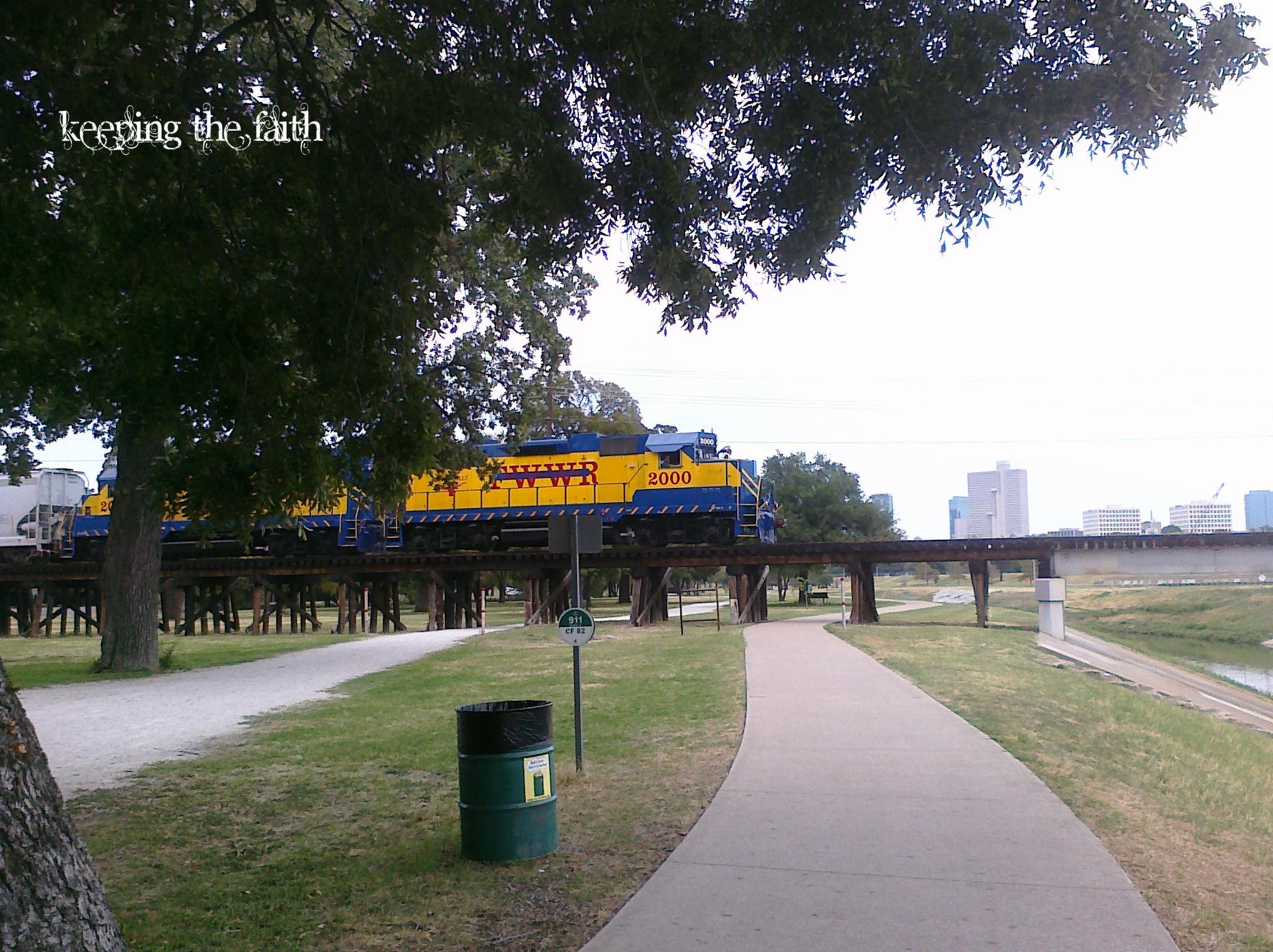 Train, Trinity Park